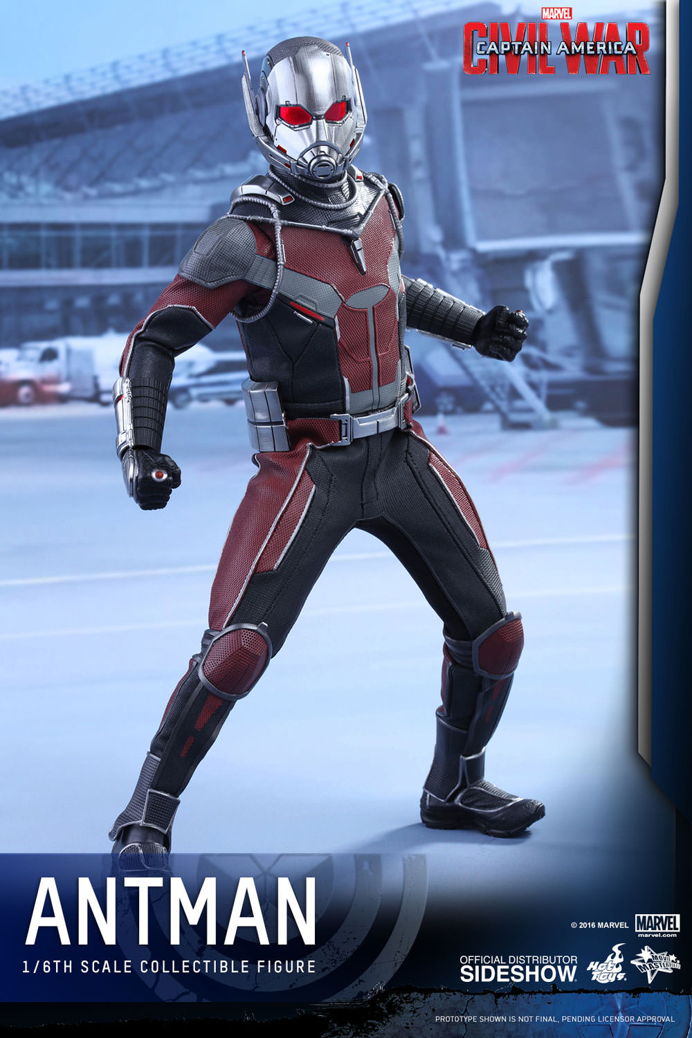 Captain America Civil War Ant Man Sixth Scale Figure by Hot Toys