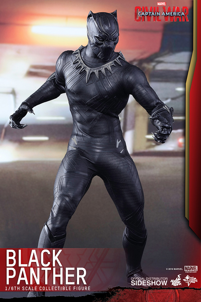 Captain America Civil War Black Panther by Hot Toys