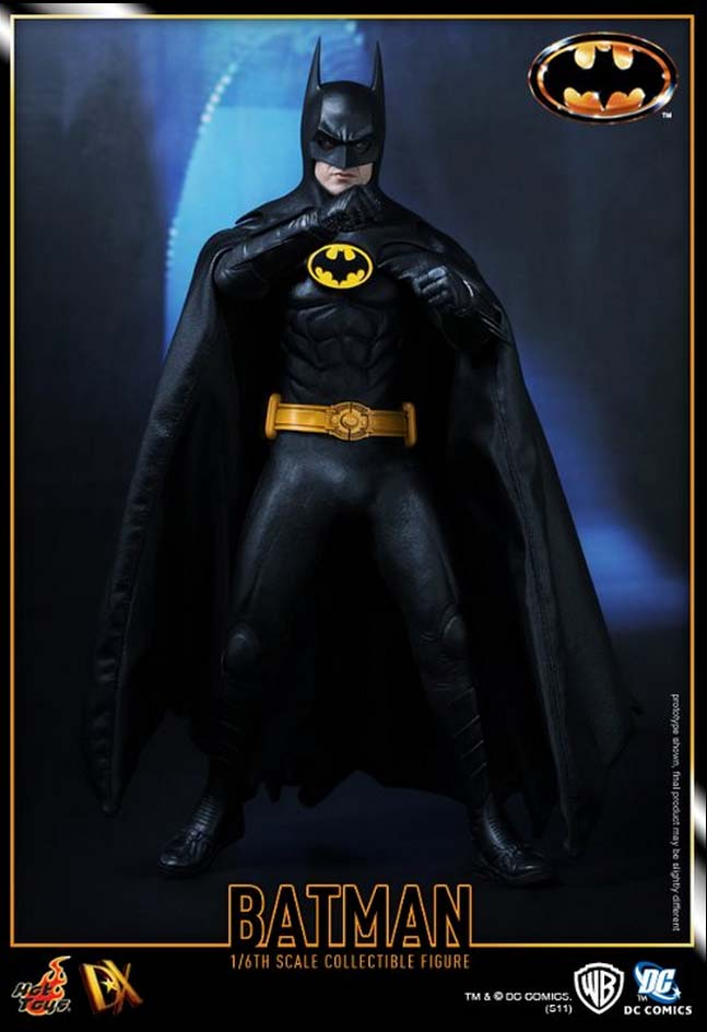 Batman (1989 Version) Hot Toys Figure