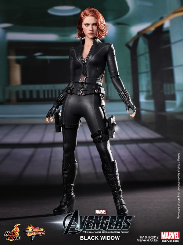 The Avengers Black Widow Hot Toys