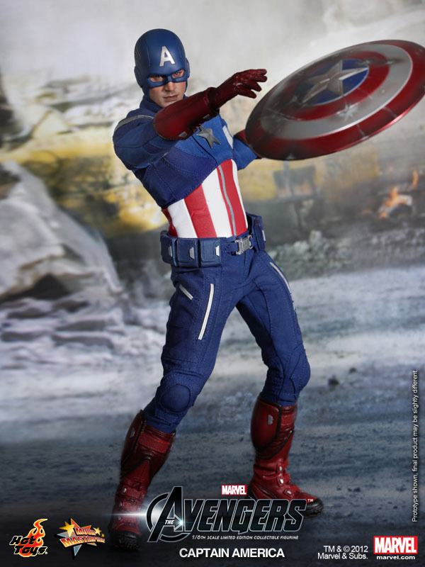The Avengers Captain America Hot Toys