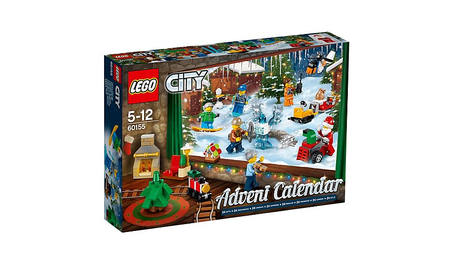 LEGO 60155 CITY Advent Calendar 2017
