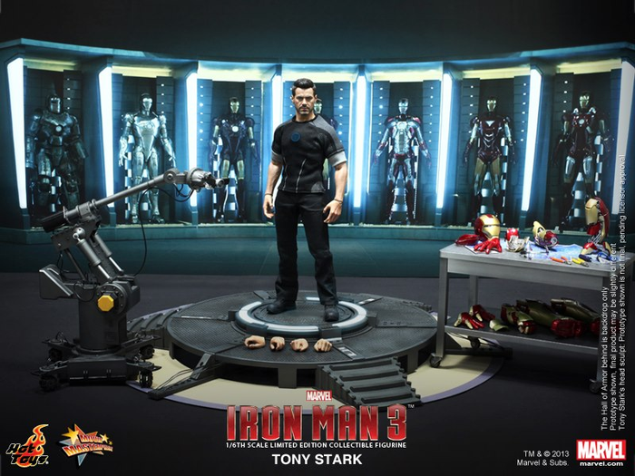 Iron Man 3 Tony Stark Hot Toys