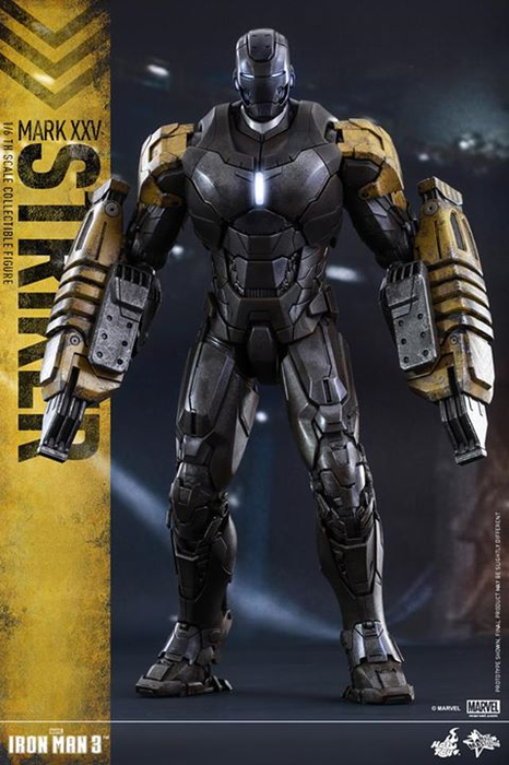 Iron Man Mark XXV Striker Sixth Scale Figure by Hot Toys