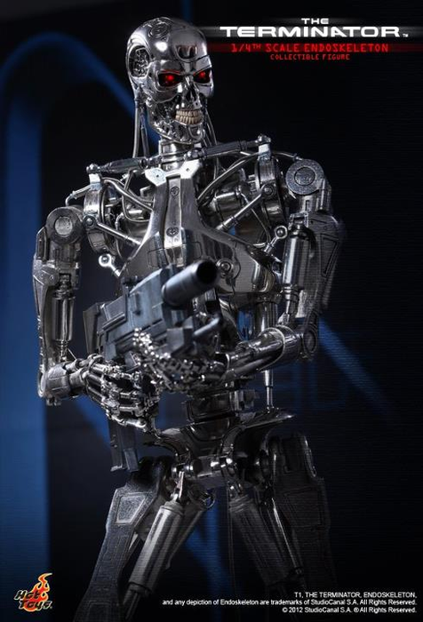 Terminator - Endoskeleton 1/4 Scale Hot Toys Figure