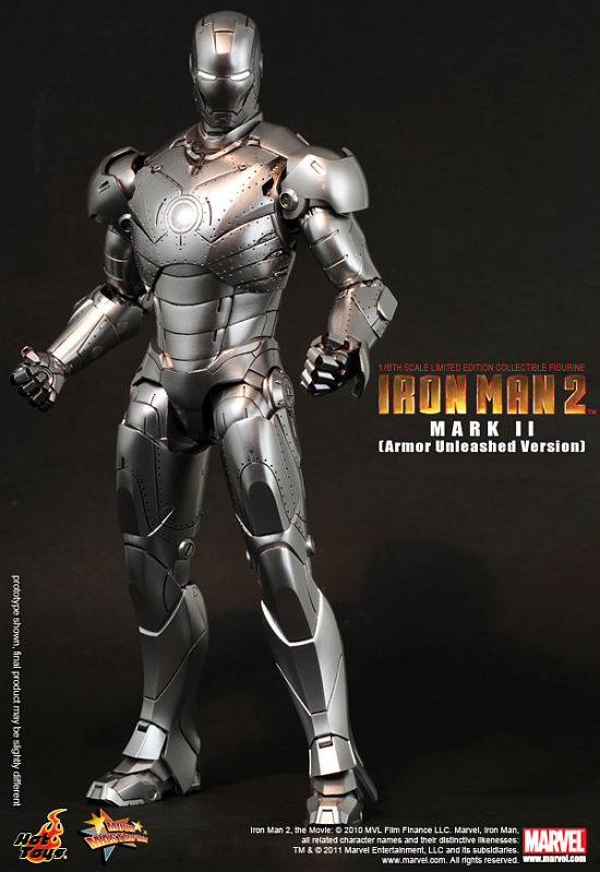 Iron Man 2 - Mark 2 Armour Unleashed Hot Toys Figure