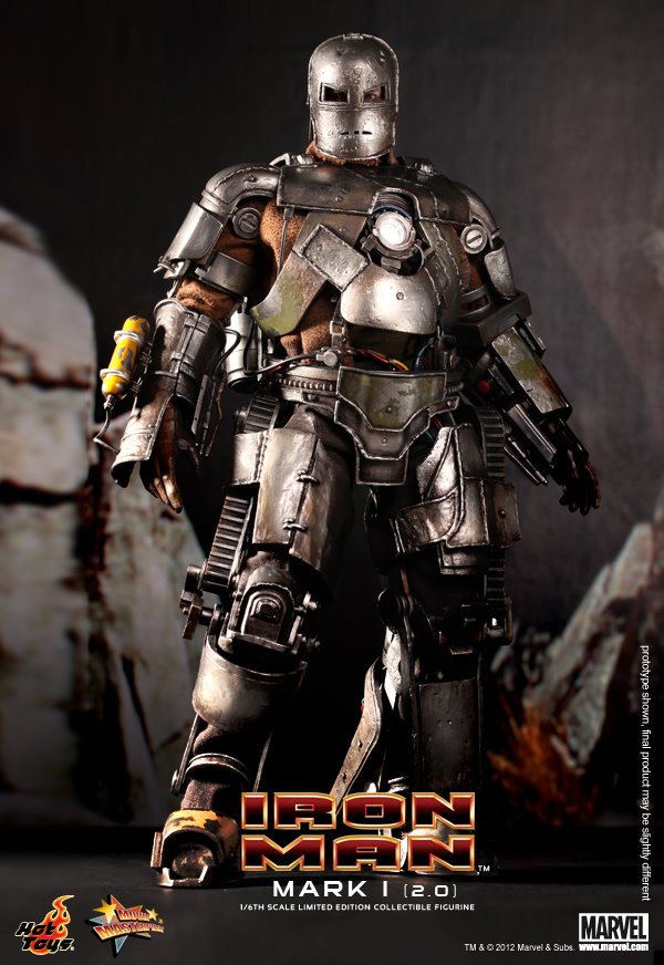 Iron Man Mach 1 2.0 Hot Toys 1/6th Scale Collectable