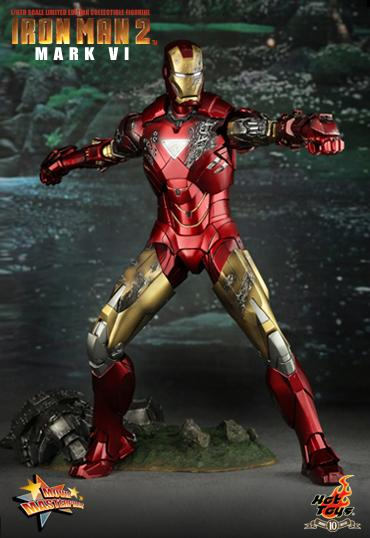 Iron Man 2 Mark VI Limited Edition Collectible Figure