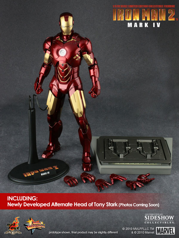 Iron Man 2: 1/6th scale Mark IV Collectible Figurine