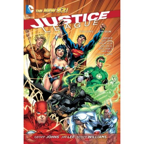 Justice League Volume 1: Origin TP