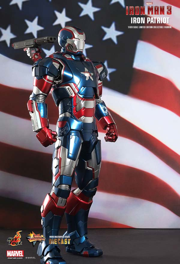 Iron Man 3 Iron Patriot Hot Toys
