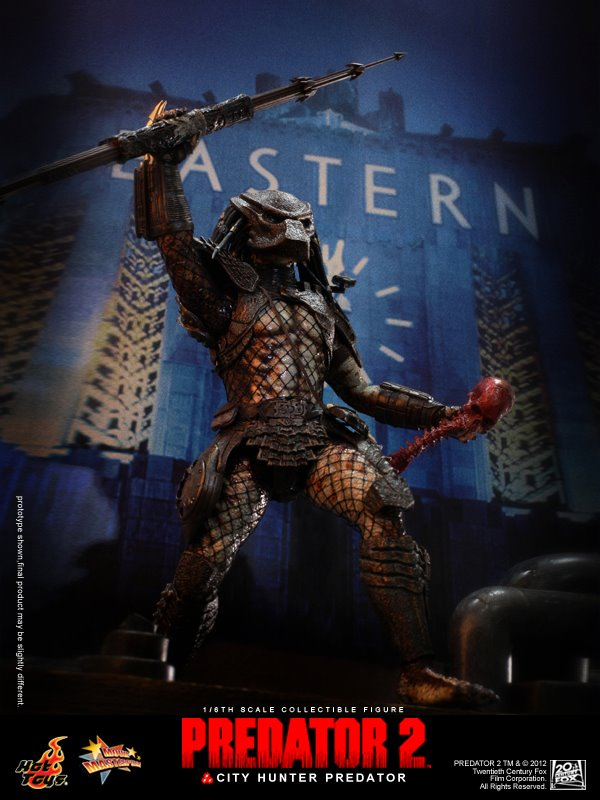 City Hunter Predator Predator 2 Hot Toys