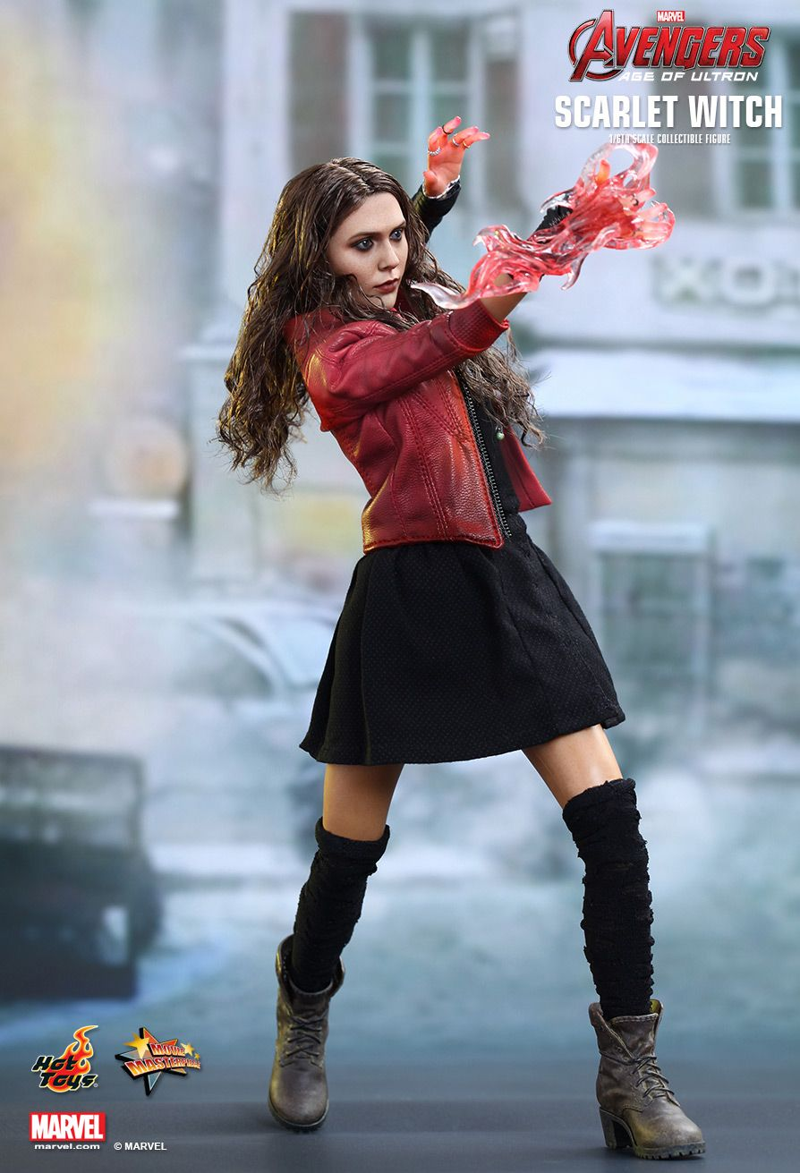 Avengers Age of Ultron Scarlet Witch Sixth Scale Hot Toys