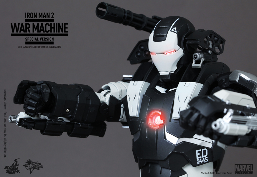 Iron Man 2 War Machine Special Edition Hot Toys