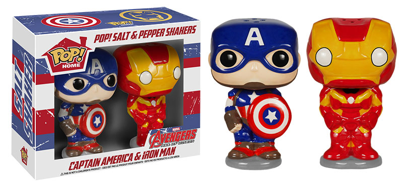 Avengers 2 Age of Ultron Captain America and Iron Man Pop