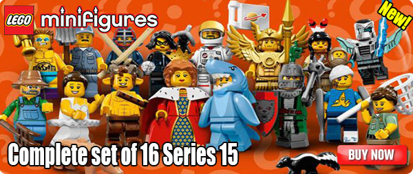 LEGO Minifigures Series 15 Complete Set of 16
