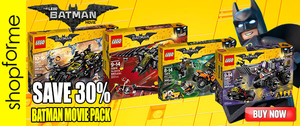 LEGO Batman Movie Pack 70914 70915 70916 70917