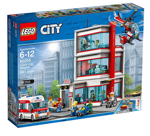 Special Offer LEGO CITY HOSPITAL shop now!