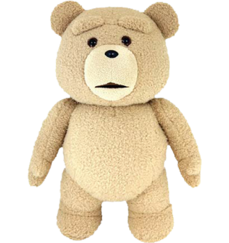 "TED 24"" LIFE-SIZE PLUSH WITH SOUND EXPLICIT"