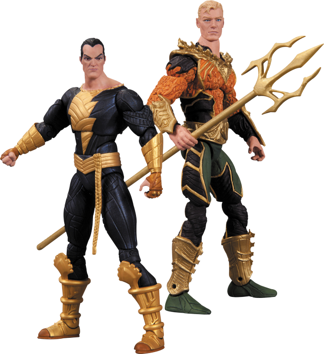 Injustice - Gods Among Us - Aquaman vs Black Adam Action Figure