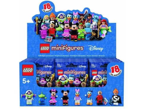 Lego 71012 Disney Minifigures Box of 60
