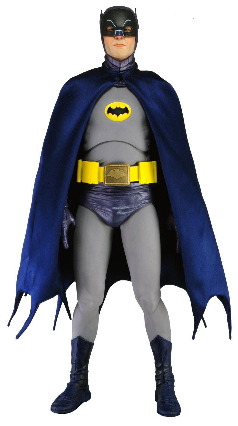 BATMAN - 1966 TV Adam West Batman 1-4 Scale Action Figure