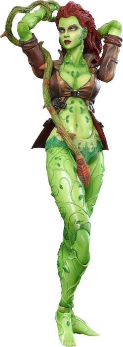 DC Comics Batman Arkham City Play Arts Kai Poison Ivy