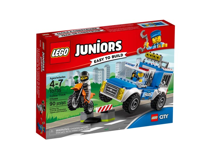 Juniors 10735 Police Truck Chase