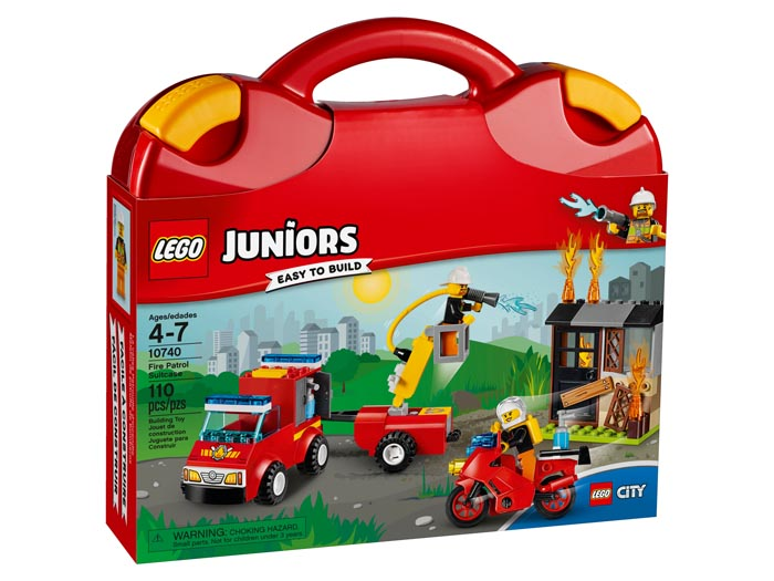 Juniors 10740 Fire Patrol Suitcase