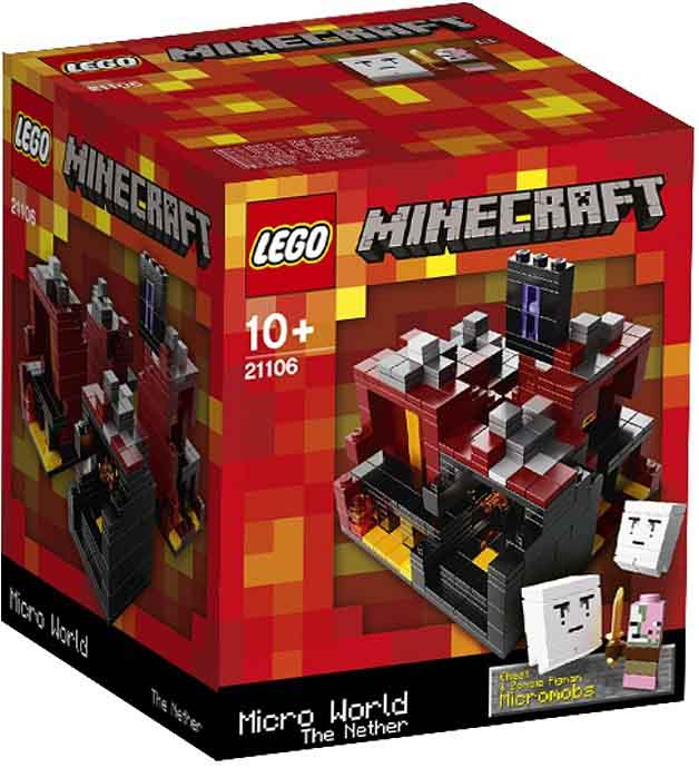 LEGO Minecraft - The Nether 21106