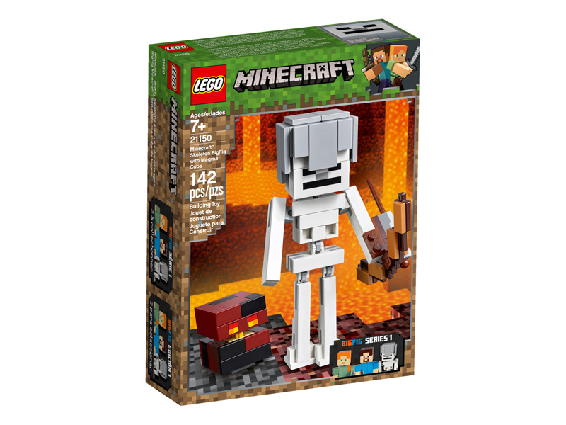 Minecraft 21150 Skeleton BigFig with Magma