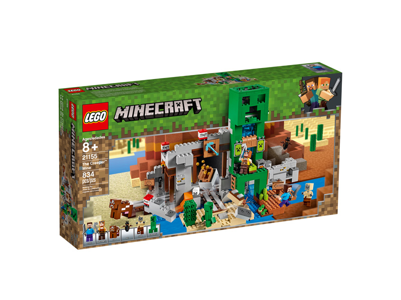 Minecraft 21155 The Creeper Mine