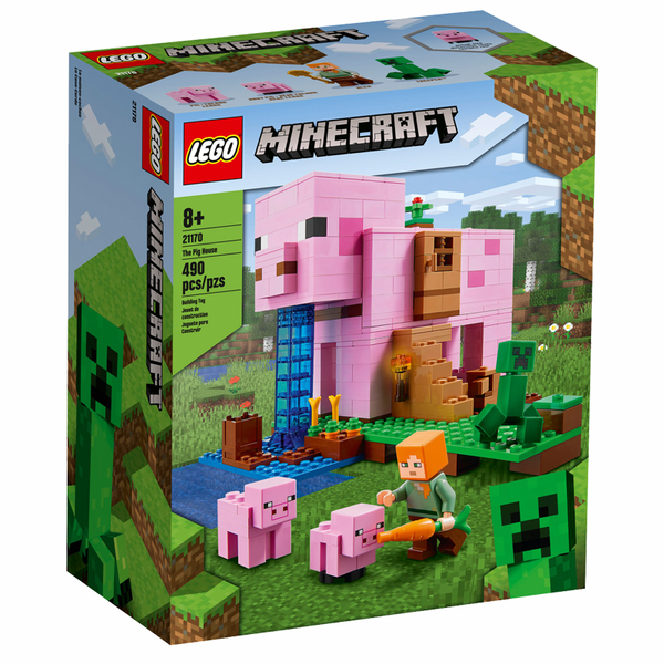 Minecraft 21170 The Pig House