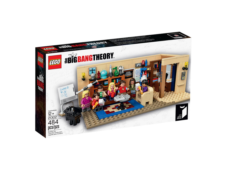 LEGO IDEAS 21302 The Big Bang Theory