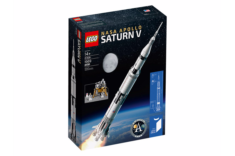 LEGO® 21309 NASA Apollo Saturn V