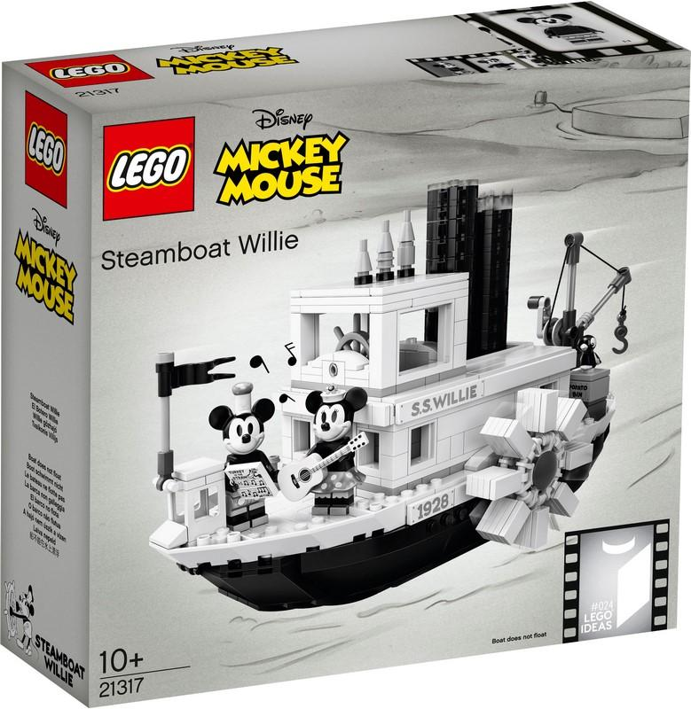 LEGO® IDEAS 21317 Steamboat Willie