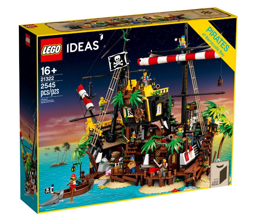 IDEAS 21322 Pirates of Barracuda Bay