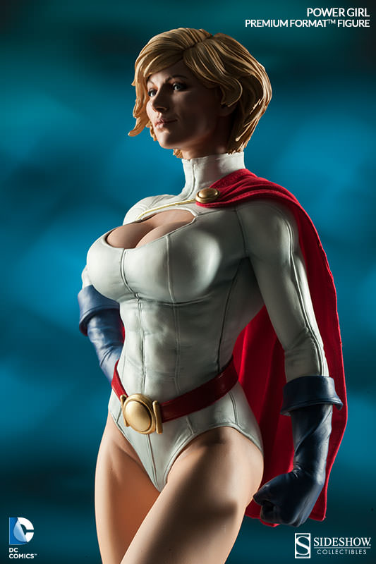 Power Girl Premium Format Figure by Sideshow Collectibles