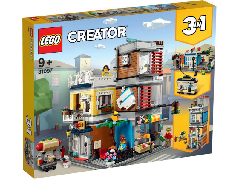 LEGO® CREATOR 31097 Townhouse Pet Shop and Cafe