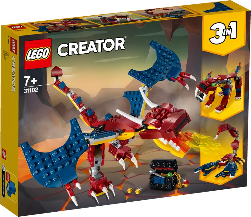 LEGO® CREATOR 31102 Fire Dragon