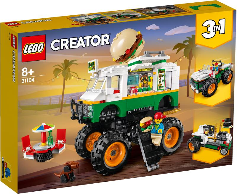 LEGO® CREATOR 31104 Monster Burger Truck