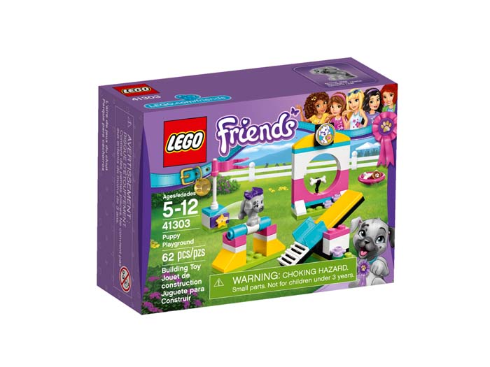 LEGO Friends 41303 Puppy Playground
