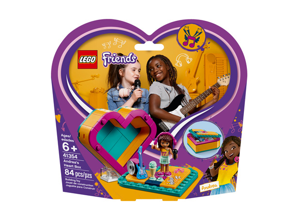 Friends 41354 Andreas Heart Box
