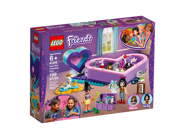 Friends 41359 Heart Box Friendship Pack