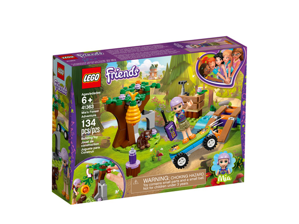 Friends 41363 Mias Forest Adventure