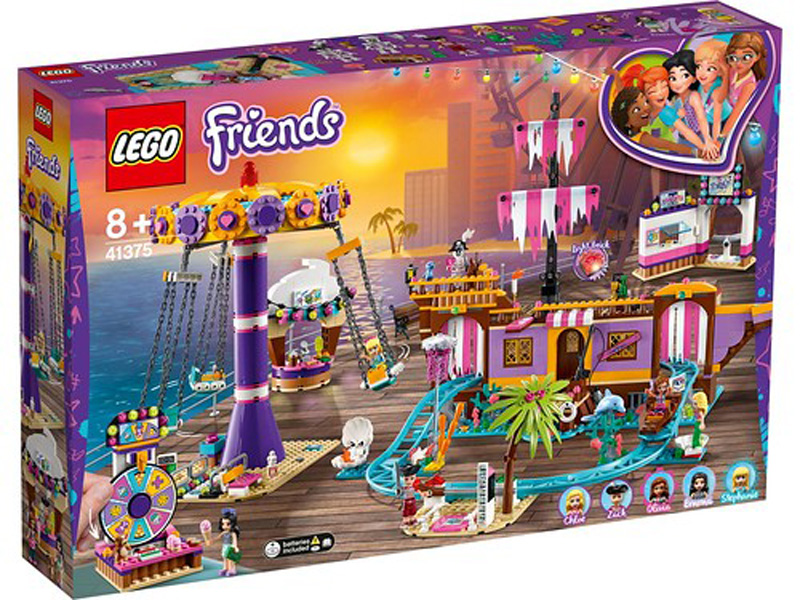 Friends 41375 Heartlake City Amusement Pier