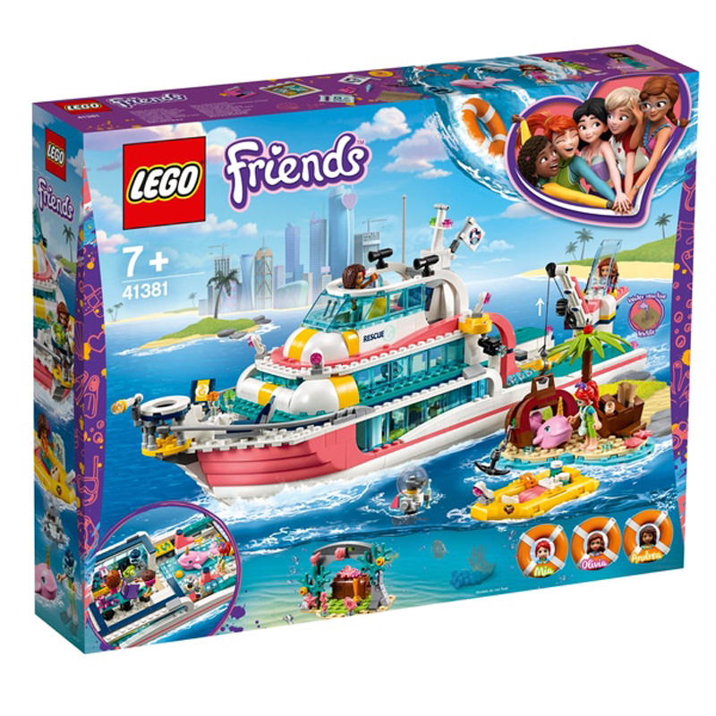 Friends 41381 Rescue Mission Boat