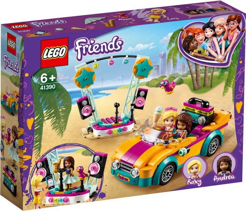 LEGO Friends 41390 Andreas Car & Stage
