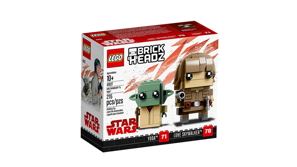 BrickHeadz 41627 Luke Skywalker and Yoda
