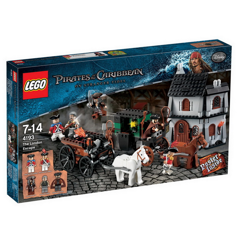 LEGO® Pirates of the Caribbean London Escape 4193